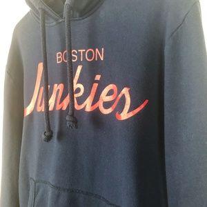 Boston Junkies navy hoodie Mitchell & Ness